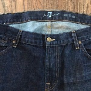 Austyn style 7 for all mankind dark denim jean